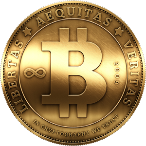 Blog logo bitcoin medallion