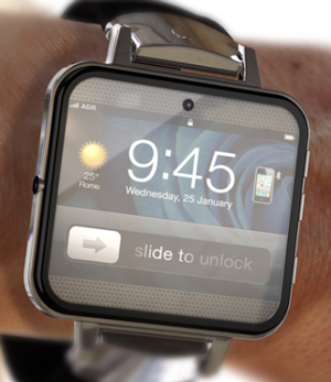 Blog image of an apple smart watch on a person's wrist