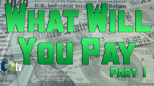 TNtv image money collage background with green text what will you pay part 1