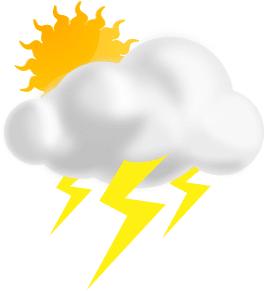 Blog image sun cloud and lightening