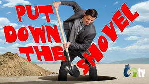 TNtv image business man digging a hole
