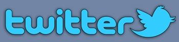 Blog image twitter logo type and bluebird