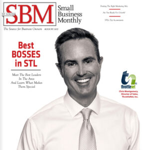 Blog image Small Business Monthly cover of best bosses in STL