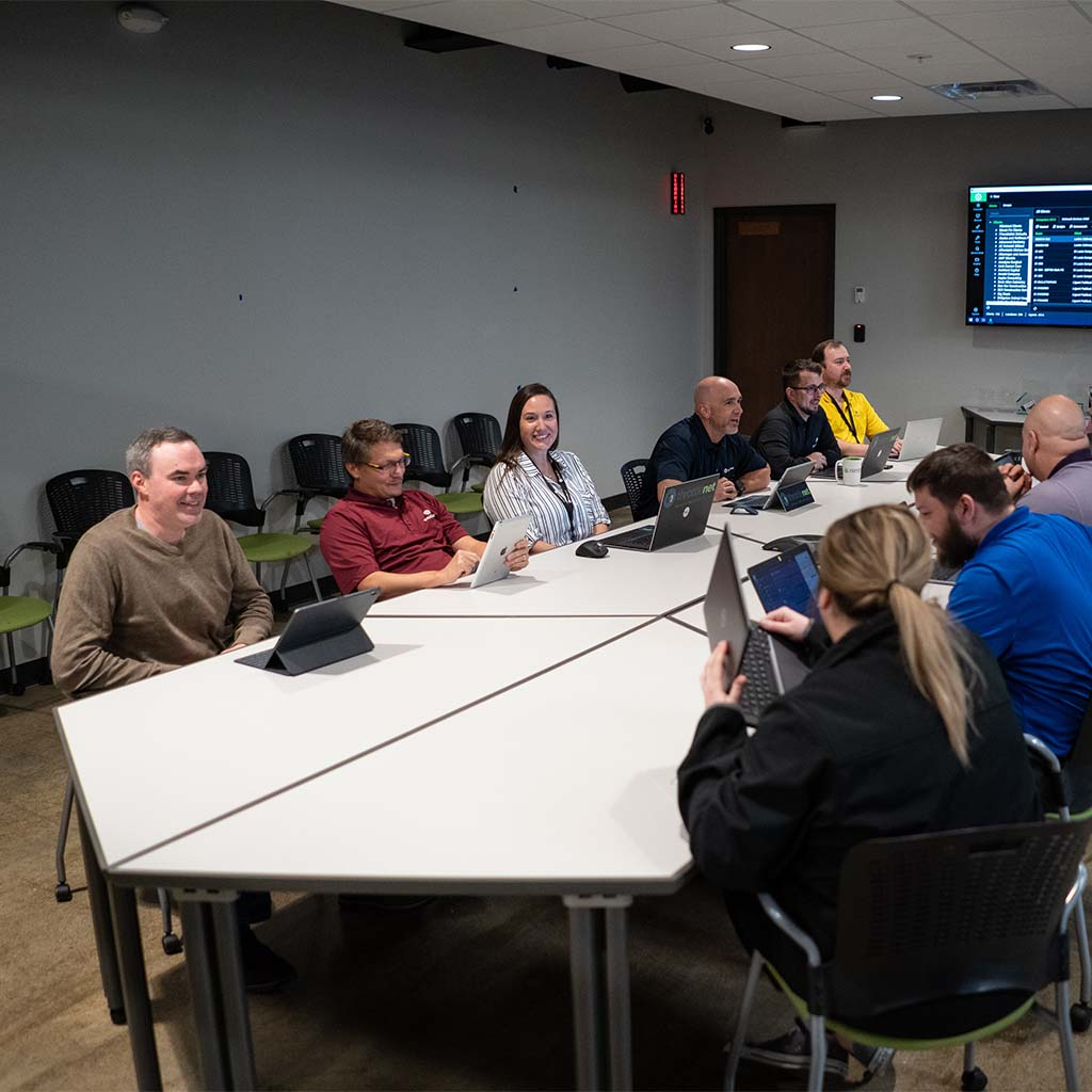 ThrottleNet meeting room