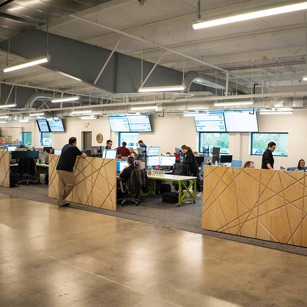 Throttlenet office- deskspace